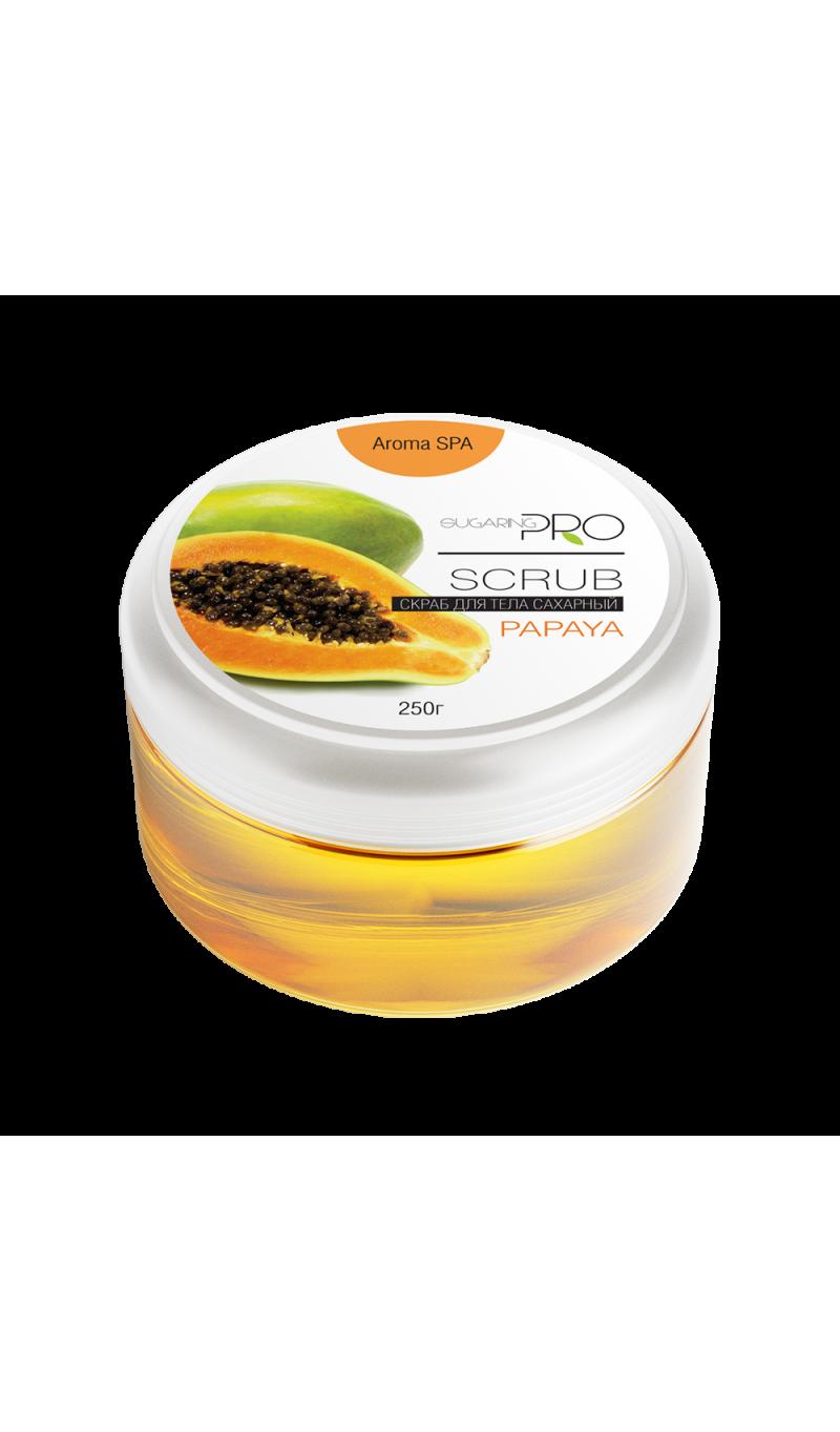 Sugaring Scrub Papaya-800×1363